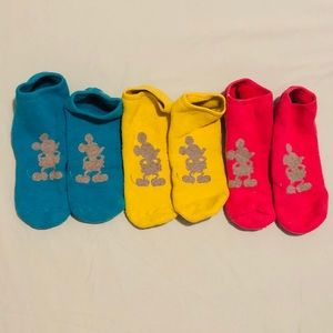 Disney ankle socks set of 3